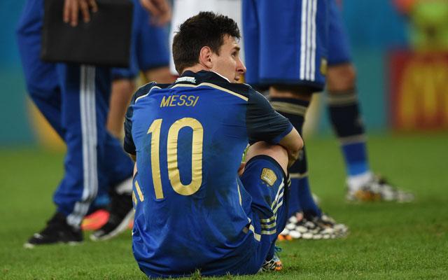 Messit nem vigasztalta az Aranylabda - Fotó: AFP