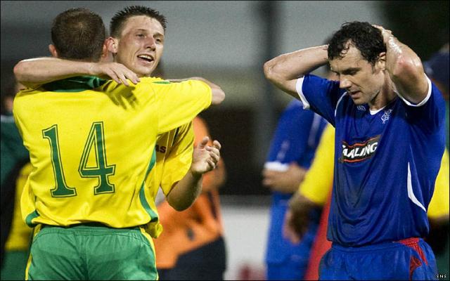 Hihetetlen meglepetést okozott a litván bajnok a Glasgow Rangers ellen