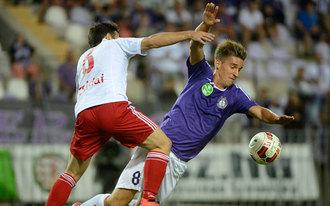 Megint a hajrában kapott góllal vesztett emberhátrányban a Debrecen