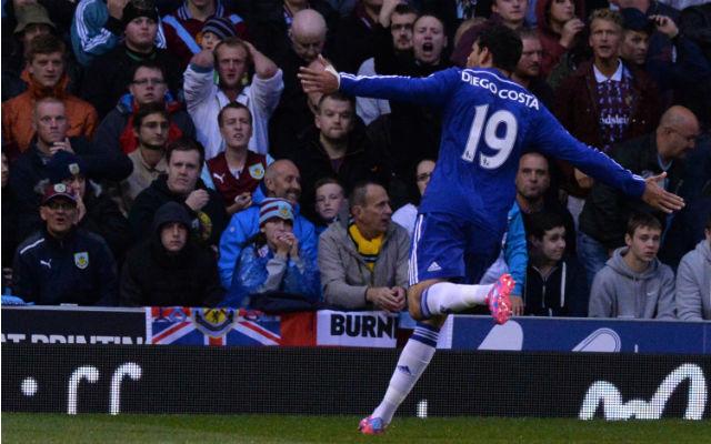 Diego Costa vezetésével ötöt lőtt a Chelsea, s immáron öt pont az előnye a Cityvel szemben.
