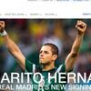 Javier Hernández a Real Madridhoz került - hivatalos
