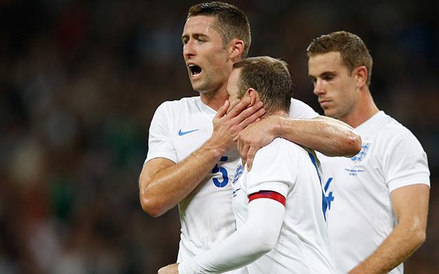 Rooney vezette győzelemre az angolokat - Fotó: AFP