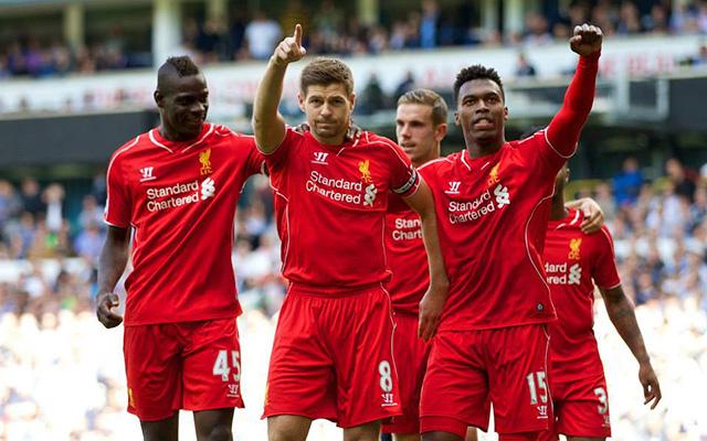 Balotelli (b) bizonyíthat Sturridge távollétében - Fotó: Facebook.com/LiverpoolFC