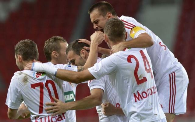 A Magyar Kupa siker után a bajnokságban is megindulhat a Loki. - Fotó: dvsc.hu