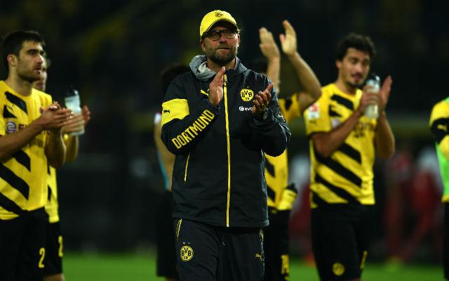 Jürgen Klopp döntetlennel döntött rekordot a Dortmund kispadján. - Fotó: AFP