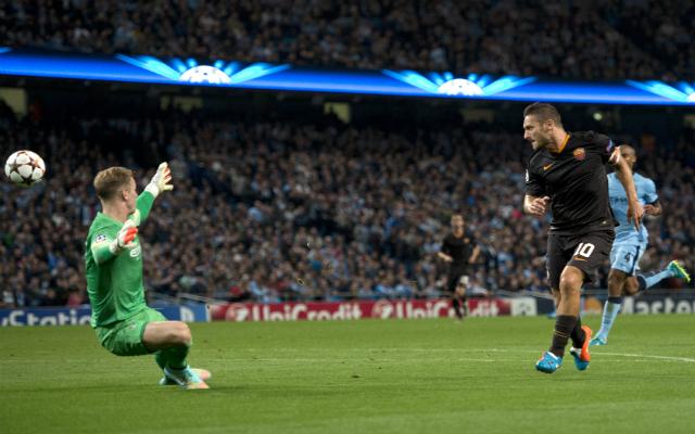 Francesco Totti szenzációs rekordja sodorta nehéz helyzetbe a Manchester Cityt