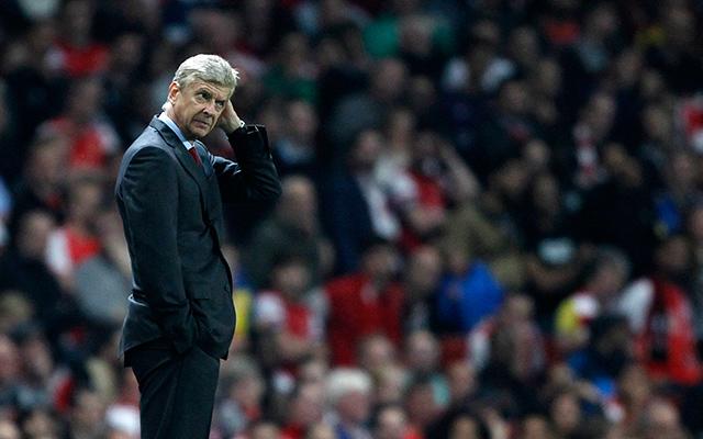 Arséne Wengerék okozták a hétvége egyik legnagyobb negatív meglepetését.