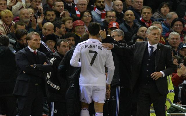 Balotelli meze és Ronaldo cseréje volt a téma a liverpooli gálaest után