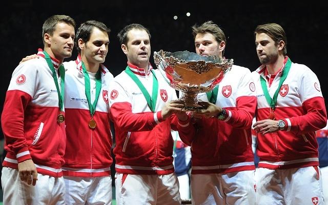 Federer vezetésével Svájc felért a csúcsra