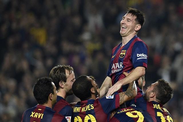 Messi a hétvégén mesterhármast ért el, a BL-ben is folytathatja rivalizálását Ronaldóval / AFP