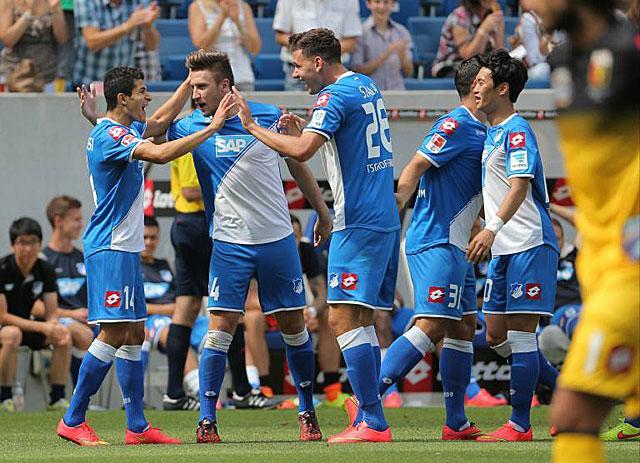 A Hoffenheim tavasszal is legyőzheti az újoncot.