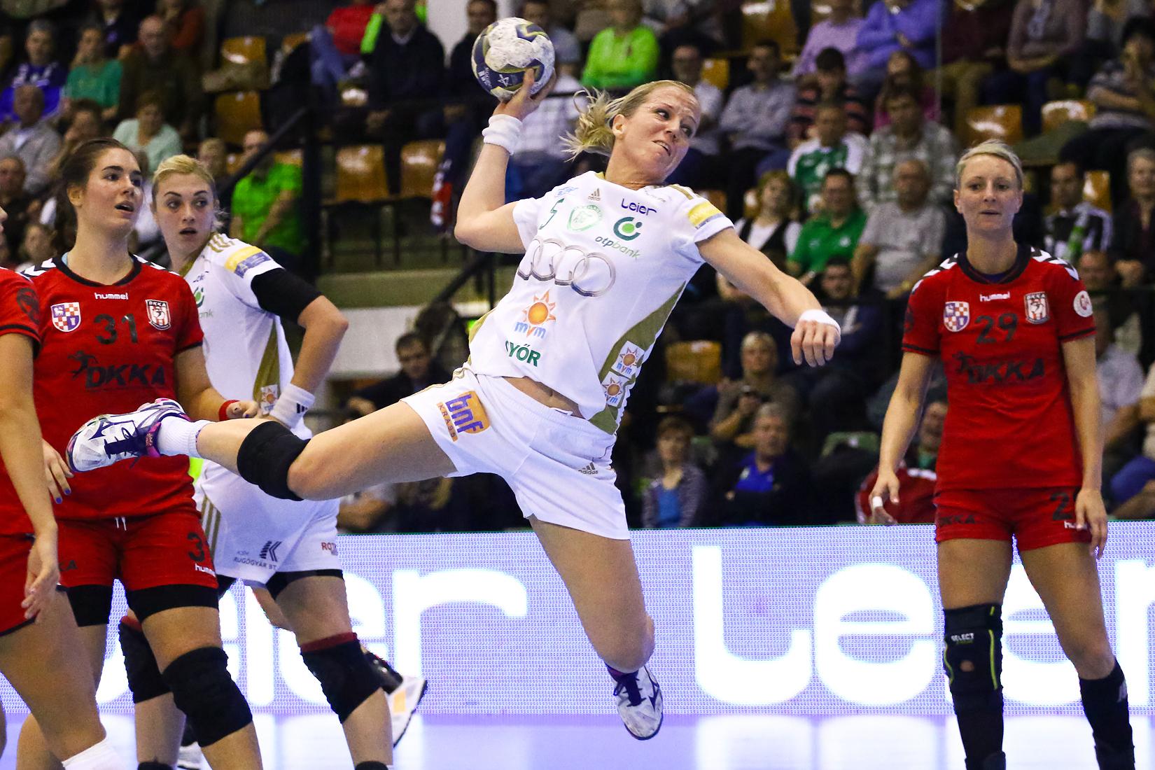 Heidi Löke idáig a legeredményesebb győri a BL-ben