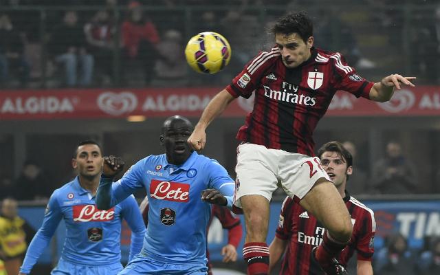 Bonaventura szerezte a milánóiak második gólját - Fotó: AFP