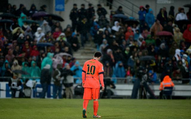 Messi magánya - Fotó: AFP