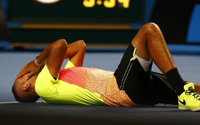 Kyrgios Wimbledon után az Australian Openen is a legjobb nyolc közé jutott. - Fotó: ausopen.com