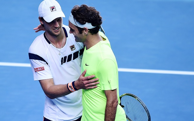 Seppi élete legnagyobb győzelmét aratta Federer ellen. - Fotó: ausopen.com