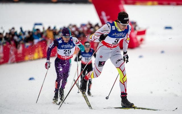 Alex Harvey bombaformában versenyez Falunban.