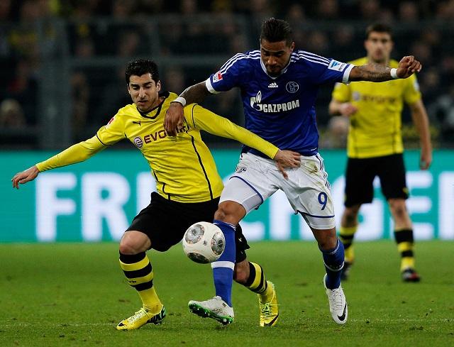 Sima meccs előtt a Dortmund.