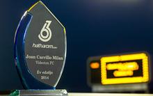 Joan Carrillo átvette a hatharom.com Év edzője díját