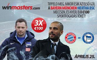 Közel 100 ezer forint a tét Dárdaiék Bayern elleni meccsén!