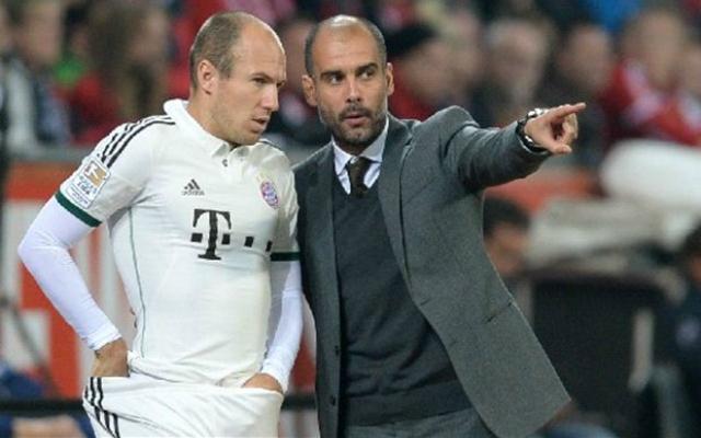 Guardiola és Robben szombaton is győzelemre vezetheti a Bayernt.