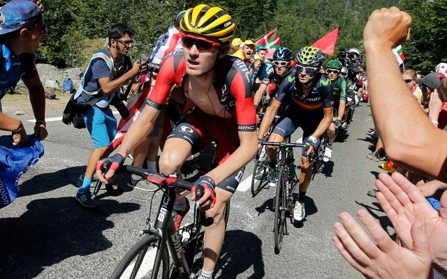 Tajay van Garderen pályafutása első Grand Tour dobogójáért hajt.