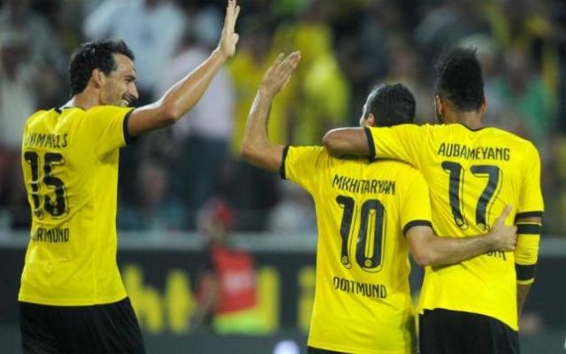 Rögtön komoly meccsel kezd a Dortmund.