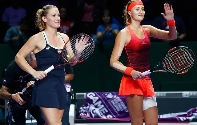 Újra összeáll Babos és Mladenovic. - Fotó: WTA
