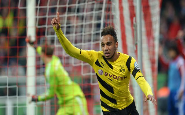 Aubameyang győzelemre vezetheti a Dortmundot. - Fotó: caughtoffside.com