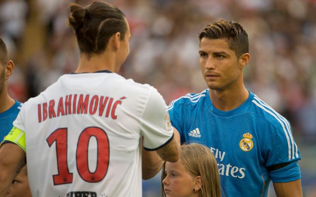 Ibra és Ronaldo ismét összecsap. - Fotó: caughtoffside.com