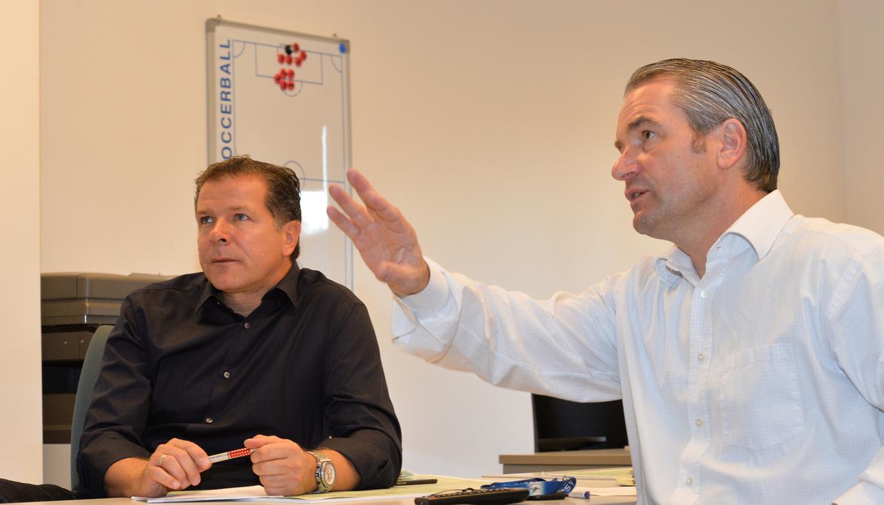 Möller és Storck már a nyerő taktika kidolgozásán munkálkodik / mlsz.hu