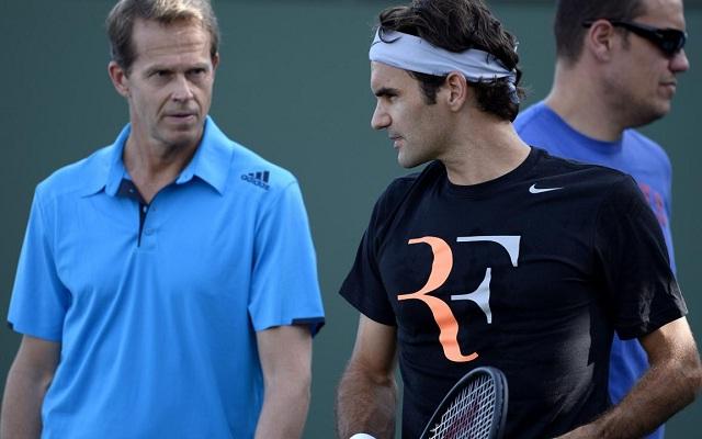 Nagyszerű párost alkotott Stefan Edberg és Roger Federer.