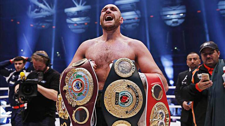Tyson Fury a nehézsúly új királya