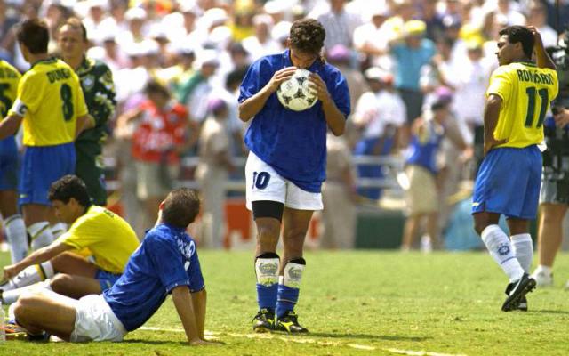 1994-ben Olaszország csoportharmadikként továbbjutott, majd Roberto Baggio a döntőben hibázott...