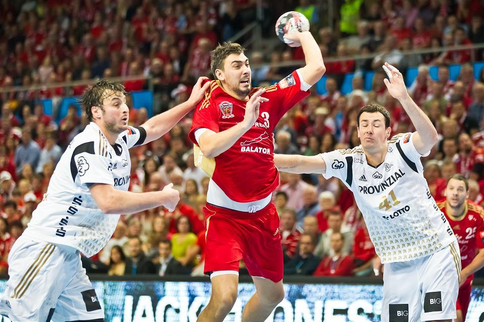 Fotó: Az első meccs hőse Gulyás Péter volt, aki 5 góljával a veszprémiek legeredményesebb játékosa lett / ehfcl.com