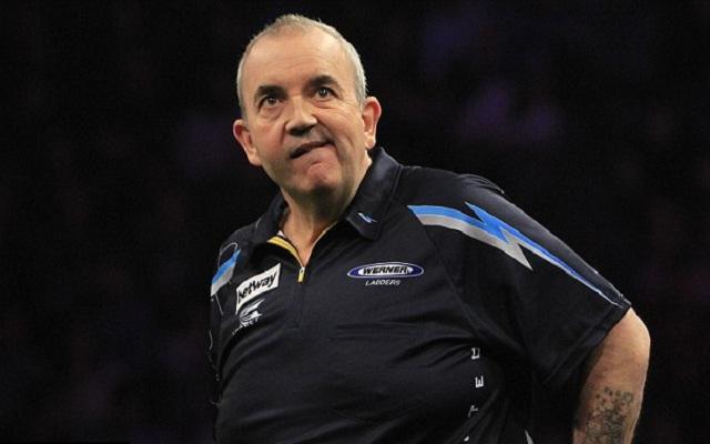 A 16-szoros világbajnok Phil Taylor számára is véget ért az idei világbajnokság. - Fotó: pdc.tv