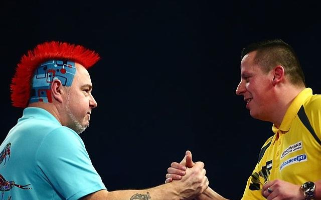 Őrült thrillerrel kezdődött az év utolsó darts-estéje. - Fotó: SkySports
