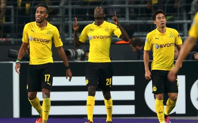 Folytatná remeklését a Borussia.