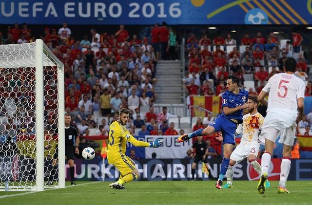 Kalinic pompás mozdulattal egalizált / uefa euro facebook