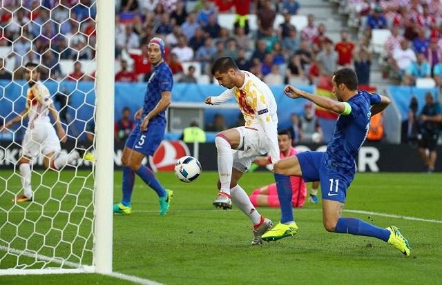 Morata góljával még a spanyolok kerültek előnybe / uefa euro facebook