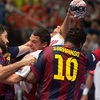 Nem sikerült a bravúr, kikapott a Veszprém Barcelonában