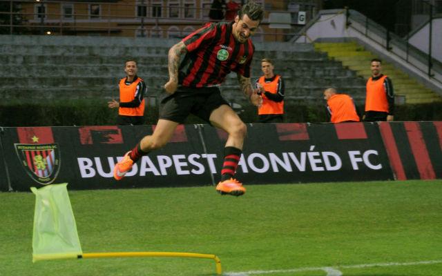 Davide Lanzafame is hozzájárulhat tippünk sikerességéhez. - Fotó: honvedfc.hu