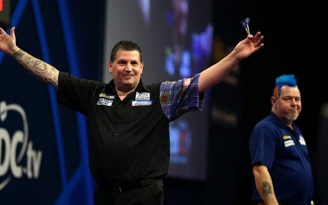 Ezúttal volt jobb Gary Andersonnál az Ally Pallyben. - Fotó: darts.tv
