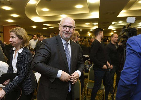 Bienerth Gusztávot választották meg vasárnap a Magyar Úszó Szövetség (MÚSZ) elnökévé / Fotó: MTI