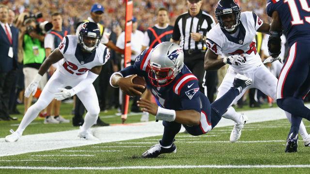 Még Brissett is simán bedarálta a Texanst - Fotó: houston.cbslocal.com