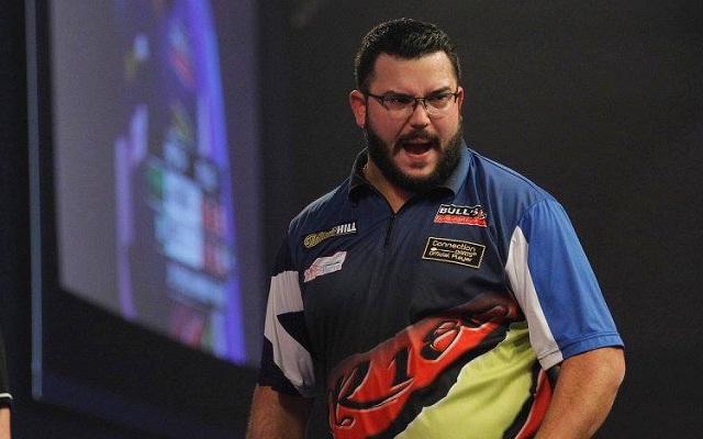 Reyes élete legjobb játéka sem volt elegendő van Gerwen ellen. - Fotó: darts.tv
