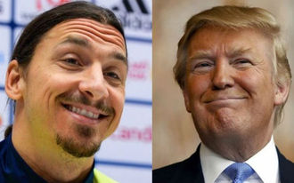 Ibrahimovic és Trump pofozták fel a fogadóirodákat
