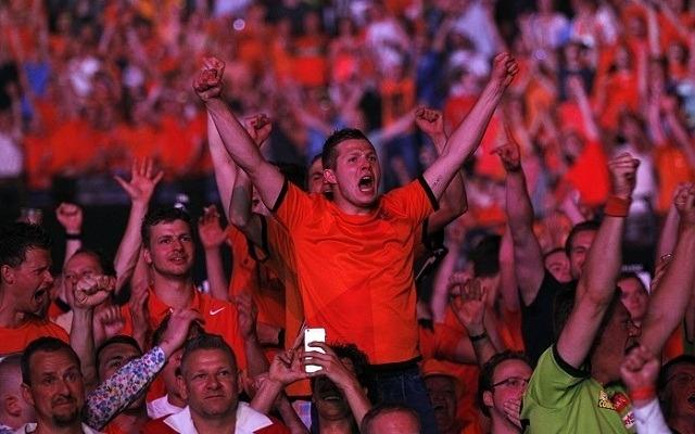 Tavaly először járt a PL-mezőnye Rotterdamban, ahol fantasztikus hangulat fogadta a játékosokat. - Fotó: PDC