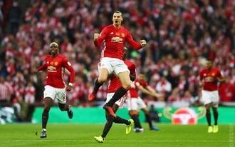 Ibrahimovic zsenije trófeát ért a Man. Unitednek - videó