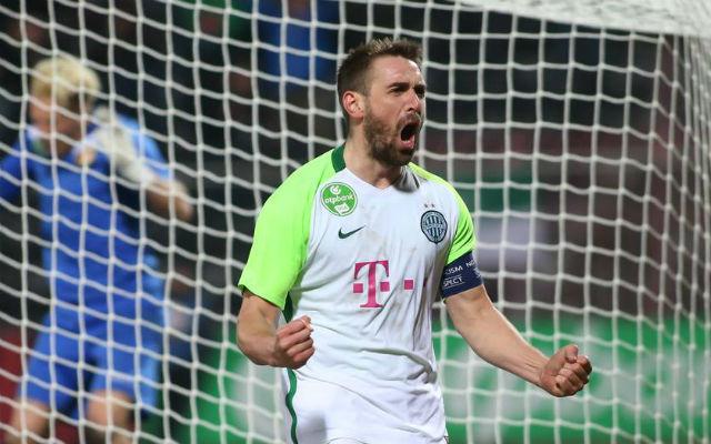 Böde góljával nyert a Fradi az Újpest ellen.